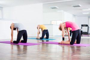 ASANA or body posture in YOGA